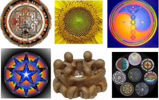 simple circles, sacred cycle